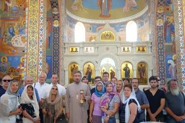 Паломники из Австрии посетили Святыни Крыма