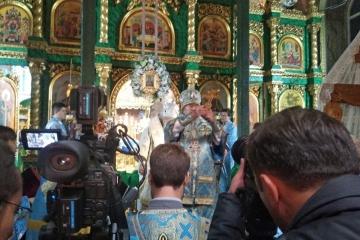 Сотрудник паломнического отдела епархии принял участие в съемках специального репортажа о православии в Крыму ТК Россия 24